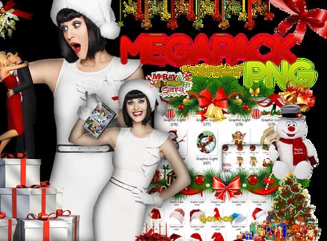 Pngs Navidad Megapack.
