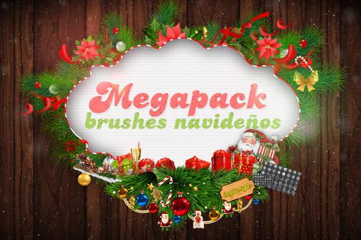Megapack Brushes.