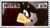 Mace -Malice- Direwolf Fan Stamp by FireheartTheInferno