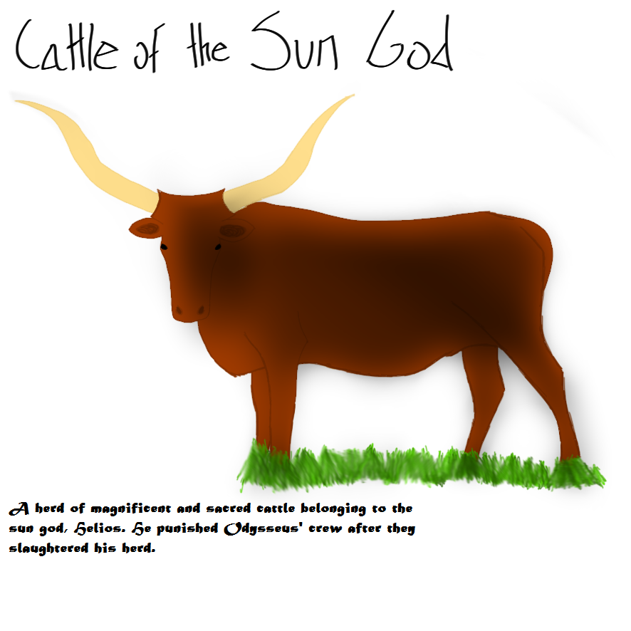 Cattle of the Sun God - 4 of 5 by Iceshadow911247 on ...