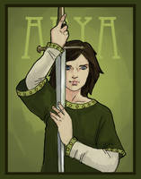 Arya Stark by RipeDecay