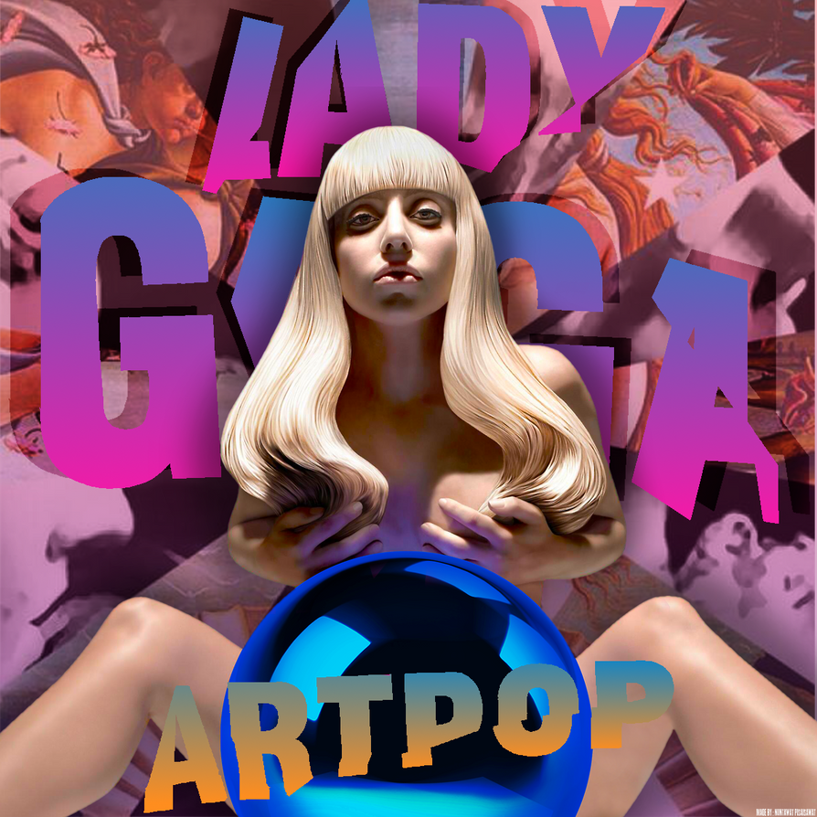 Lady Gaga goes nude for ARTPOP cover