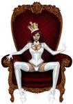 Queen in White by Delfine-S-Kanashii