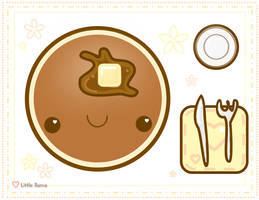 Pancake Love by Little-llama
