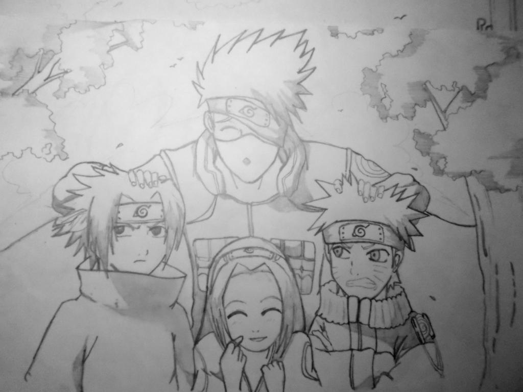 My Naruto Drawing by Chiinyan