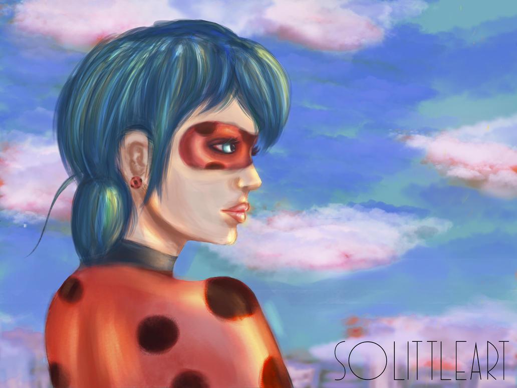 LadyBug FanArt (Realistic) by SoLittleArt