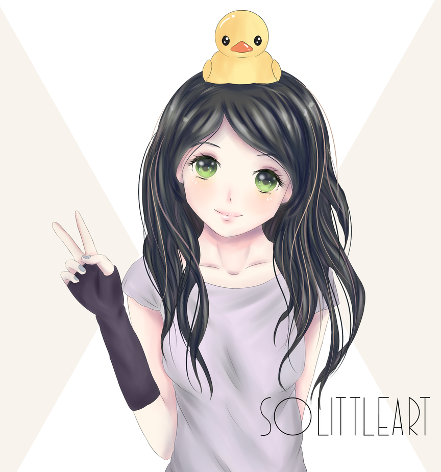 Duckling's world by SoLittleArt
