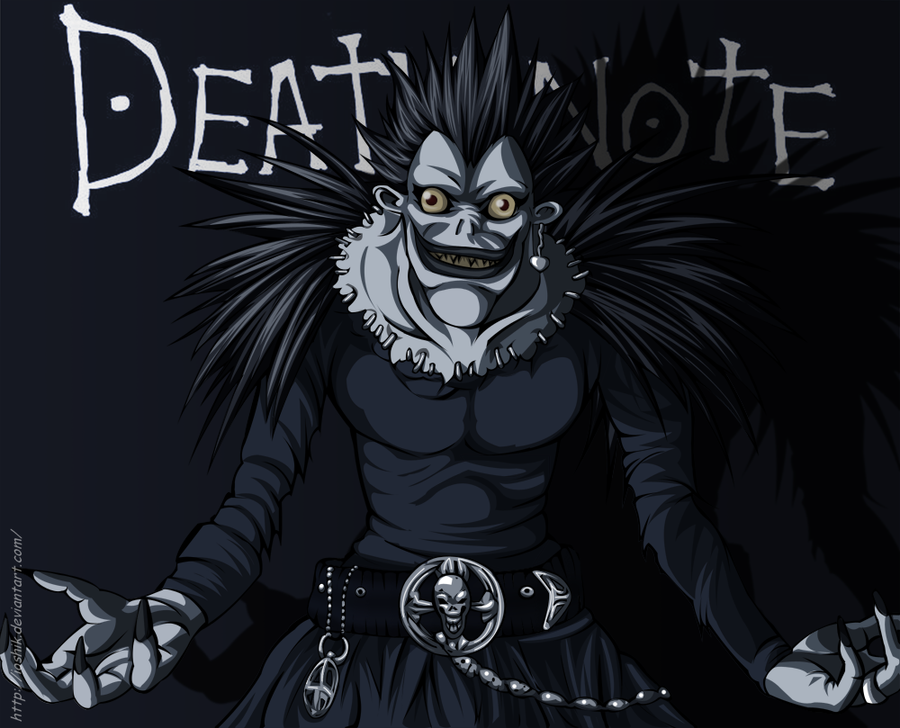 ryuk by ioshik on DeviantArt
