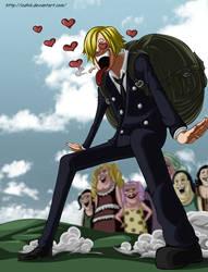 One Piece : Sanji by ioshik
