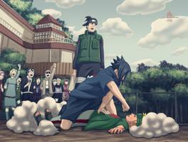 naruto vs sasuke by ioshik