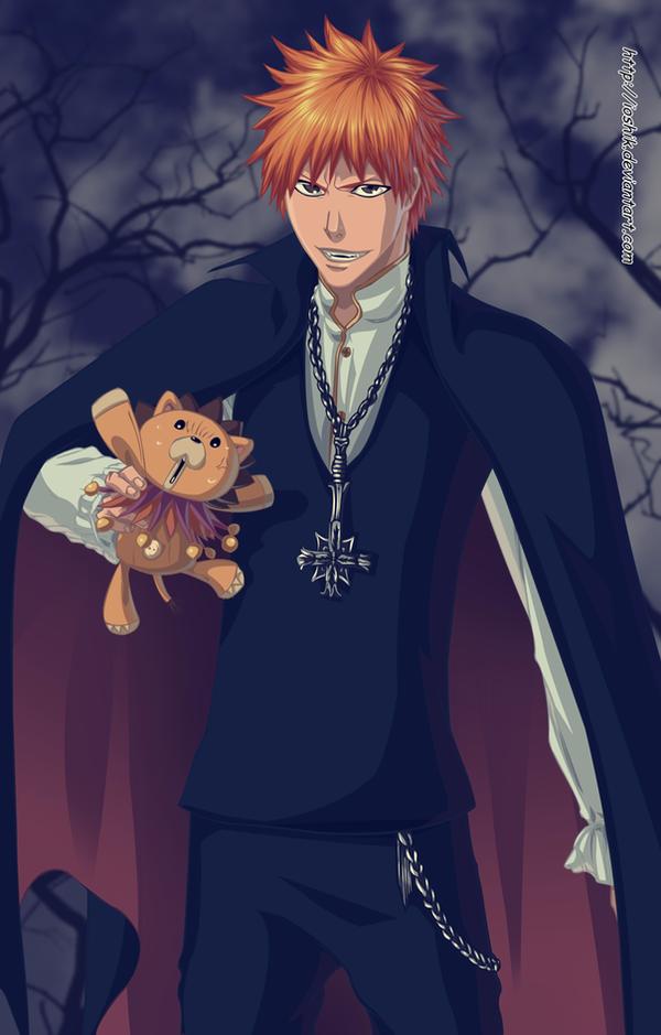 ichigo  vampire by ioshik