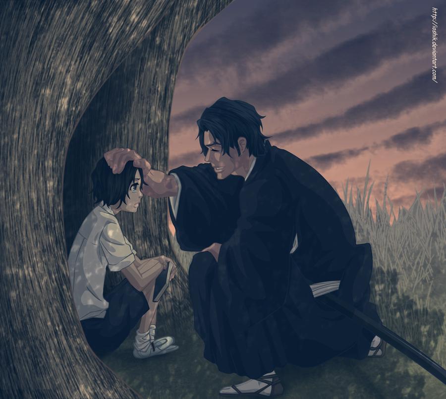 Ginjou and Tsukishima by ioshik