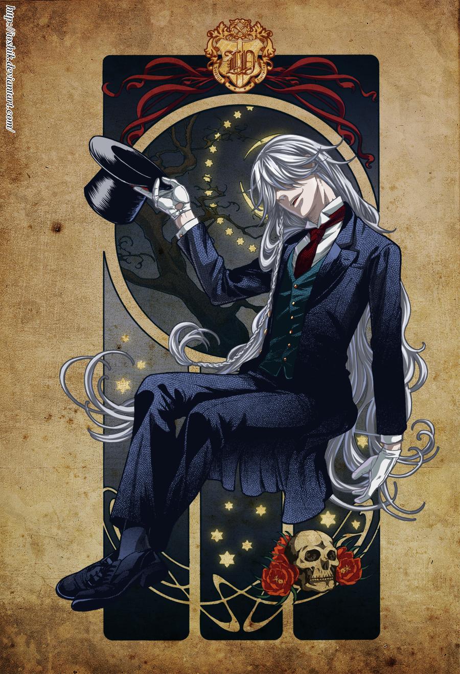 Undertaker (Kuroshitsuji ) by ioshik