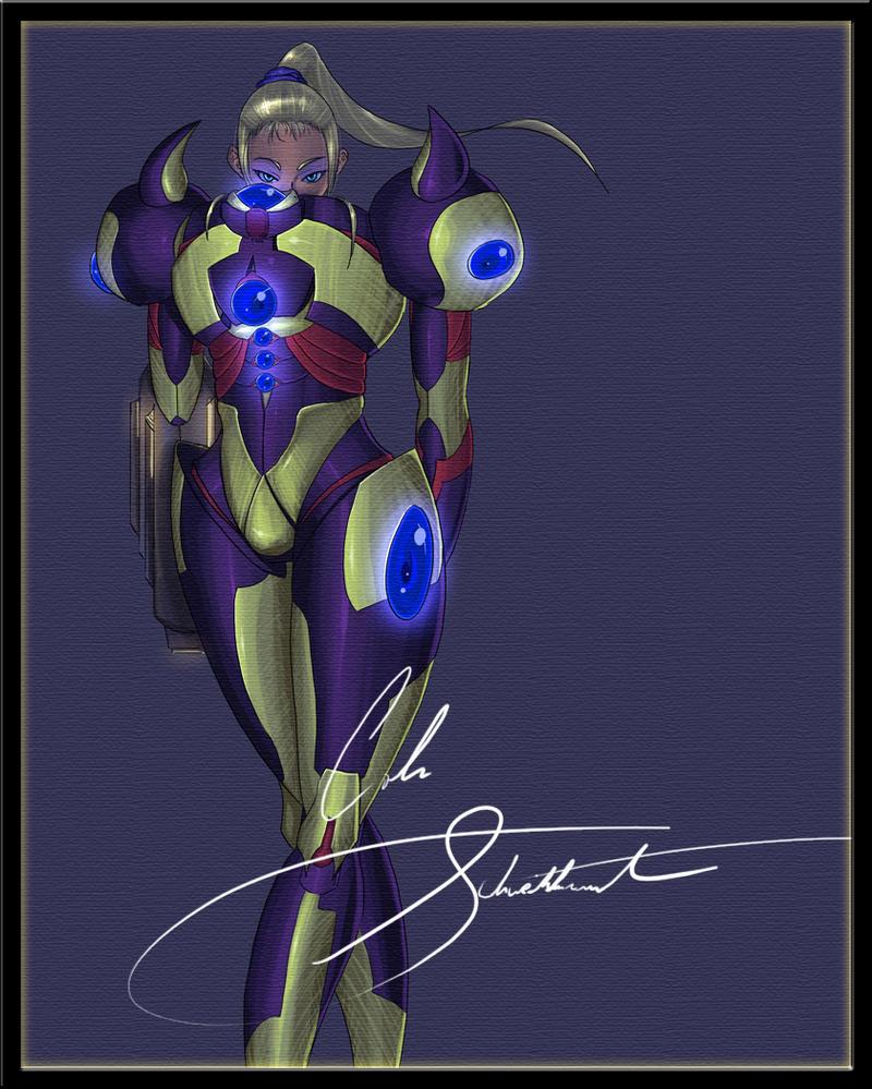 Samus Aran -Concept Suit- by RevVolution