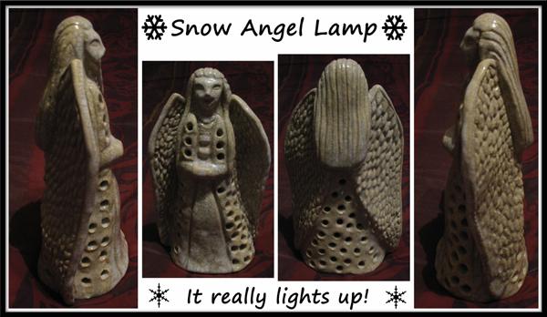 Snow Angel Lamp