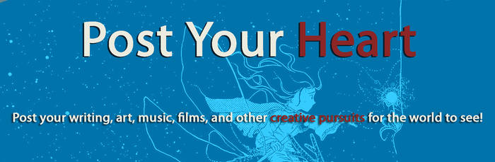 Post Your Heart Site Banner