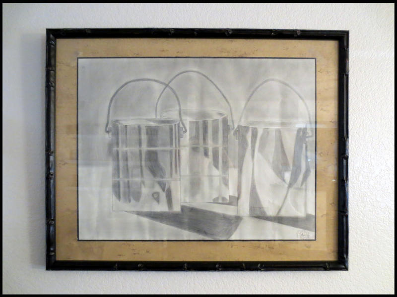 My Framed Artwork - Three Buckets