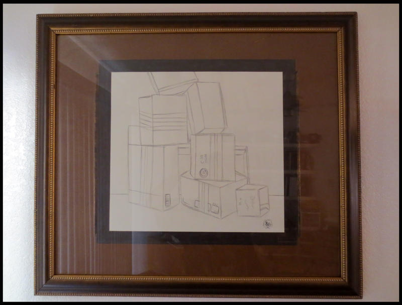 My Framed Artwork - Still Life Boxes