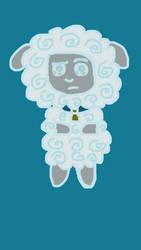 Chibi Cranky Sheep