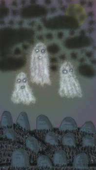 Ghosts In A Graveyard