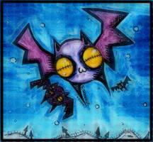 Purple Bats Of Doom by SinclairStrange