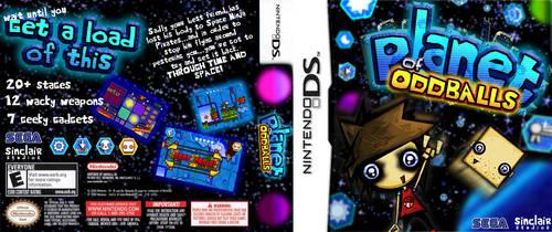 Planet Of Oddballs MockBoxArt by SinclairStrange