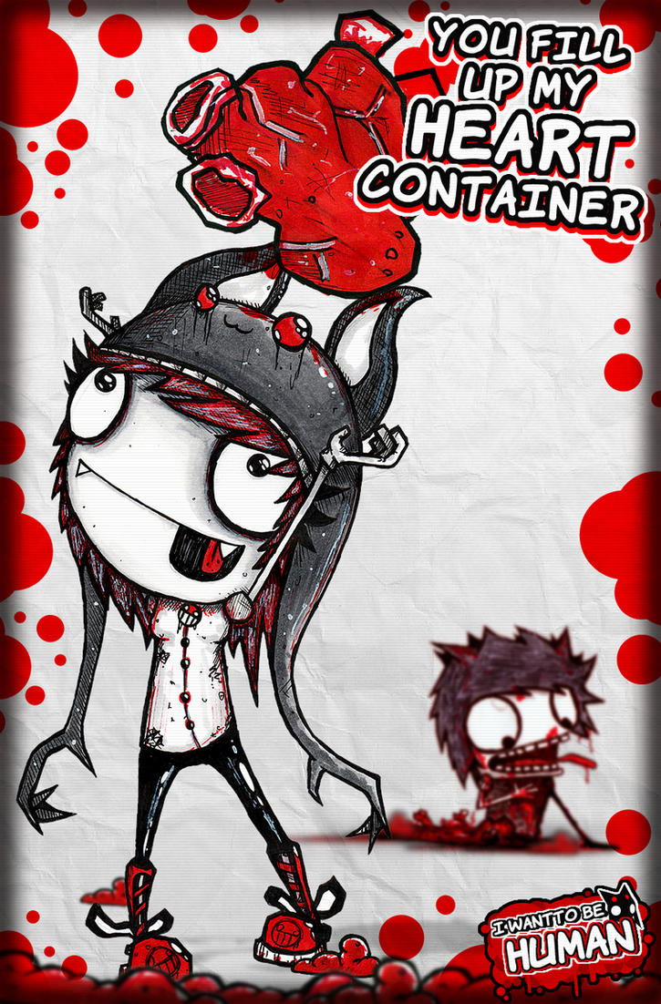 HEART CONTAINER (fill it up biatch.) by SinclairStrange