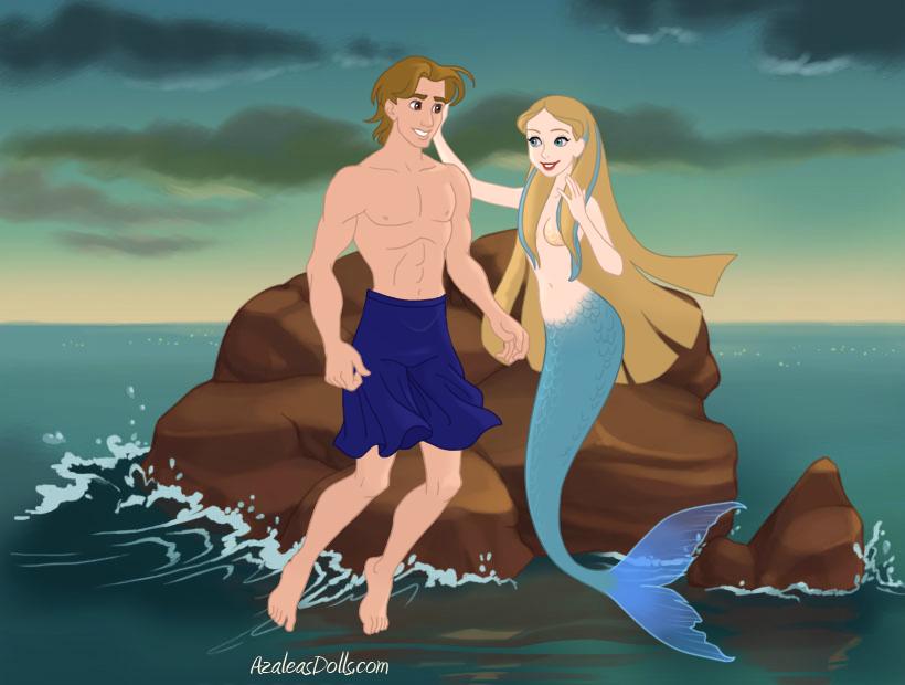 Aquamarine and Raymond. by Whirlpool24 on DeviantArt