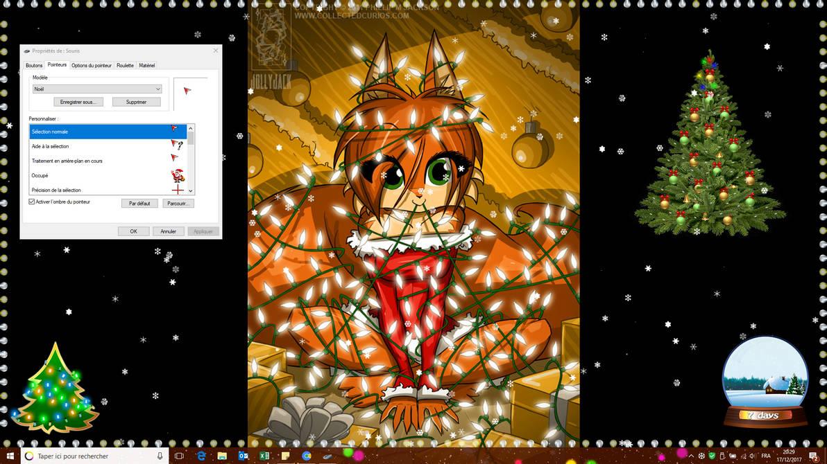 Pimp your Desktop for Christmas - 2017 Edition