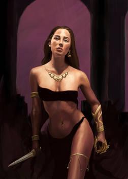Priestess of Dark Gods