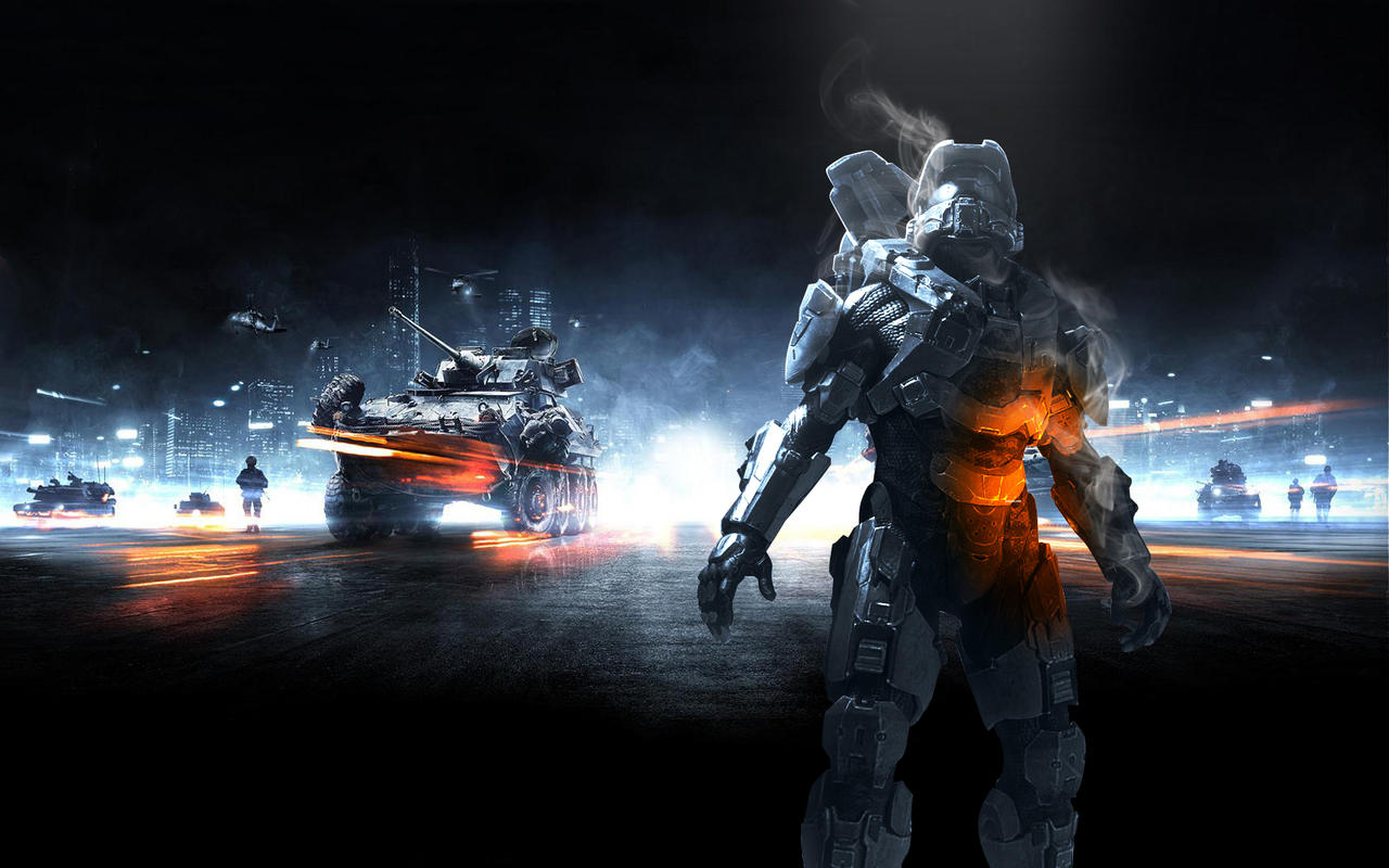 BF3-HALO4 by R34LT1M3
