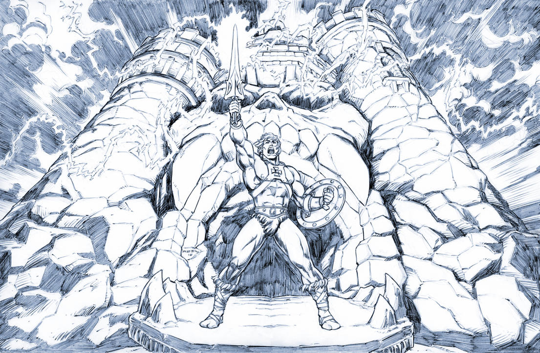 He-Man, The Most Powerful Man In The Universe. by Axel-Gimenez