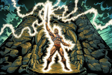 He-Man, Most Powerful Man In The Universe.