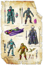 Masters of the Universe Classics - New Characters by Axel-Gimenez