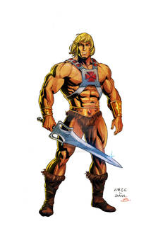 He-Man - Most Powerful Man in the Universe!