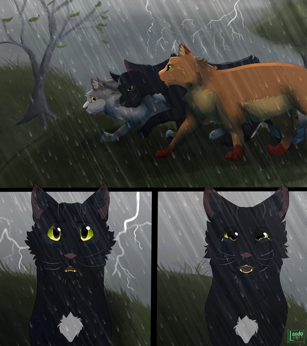 Warriors Into The Wild Ending: Ravenpaw's Exodus By Landoonym On DeviantArt
