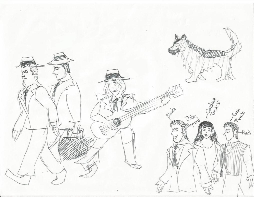 Viejos Dibujos by Leonca77