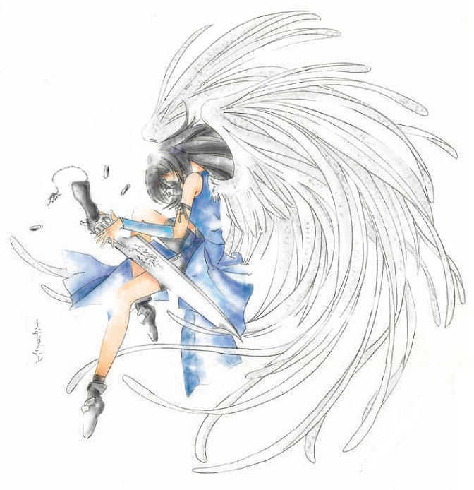 How To Draw Anime Wings