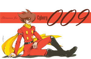 Cyborg 009 by tomuyu