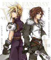 -Final Fantasy Heros- by tomuyu