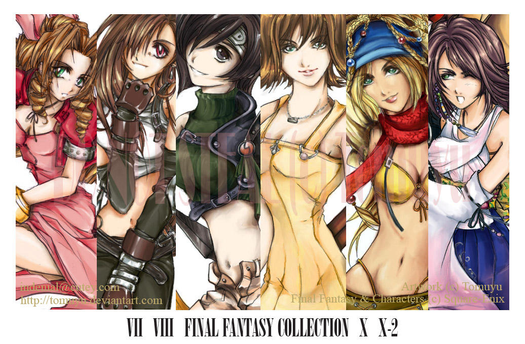 FF Up Close Girls Collection by tomuyu