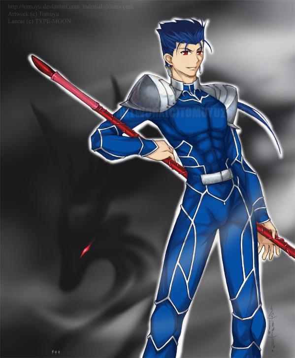 FSN - Hound of Culann - Lancer by tomuyu