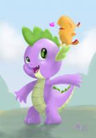 Spike and Pee Wee by SagebrushPony