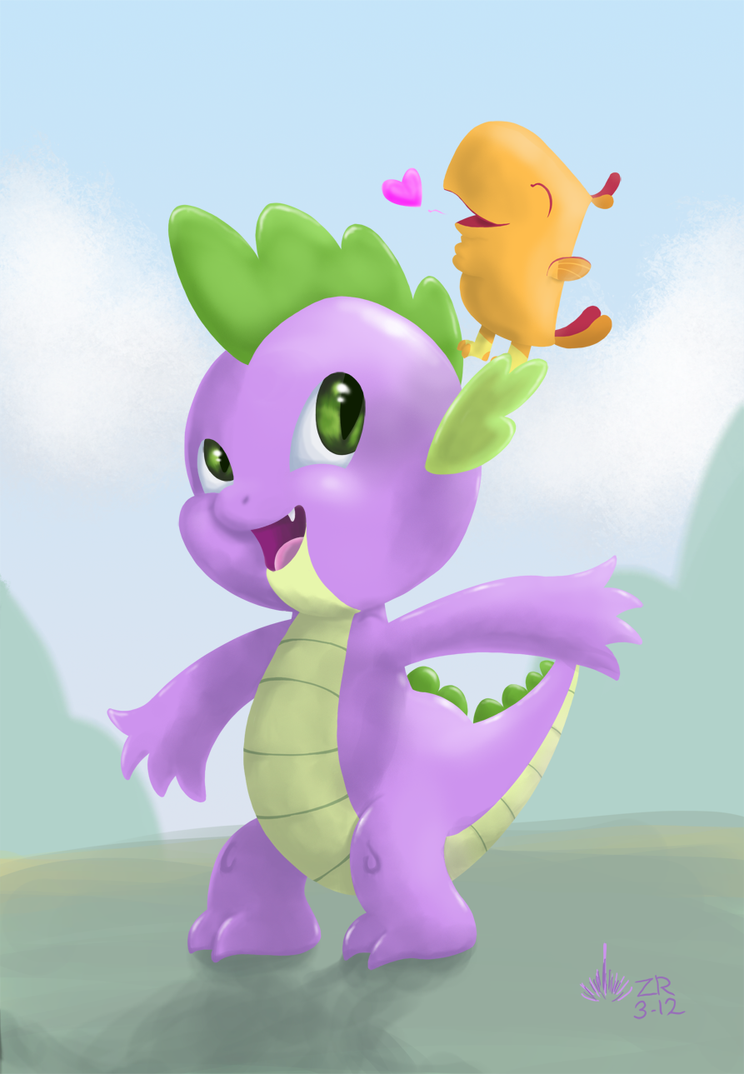 Spike and Pee Wee by SagebrushPony