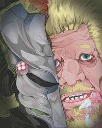 Hunterxpredator by BaconPUNCH