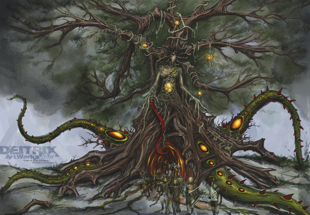 Tree of Life Colossus by DEITRIX