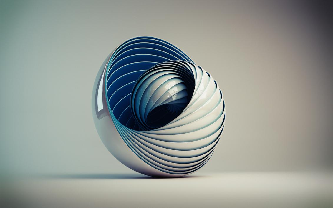 Wavy Sphere by Passiert