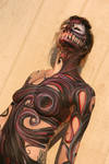 Symbiote body paint