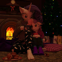 The Fire is so Delightful by TheOwlGoesMoo