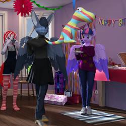 Gift: Birthday Bash by TheOwlGoesMoo